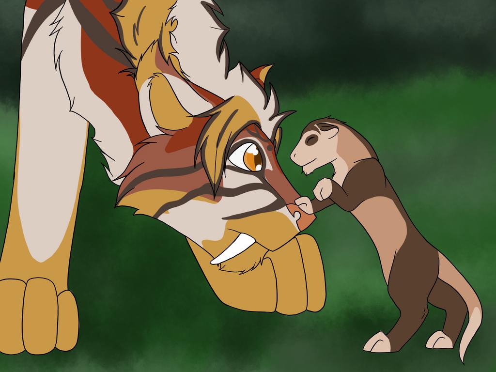 Pheonix meets Kamaitachi by saiwolf7