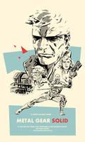 Metal Gear Solid Poster by SpawnofKane