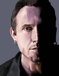 Clive Barker digital painting