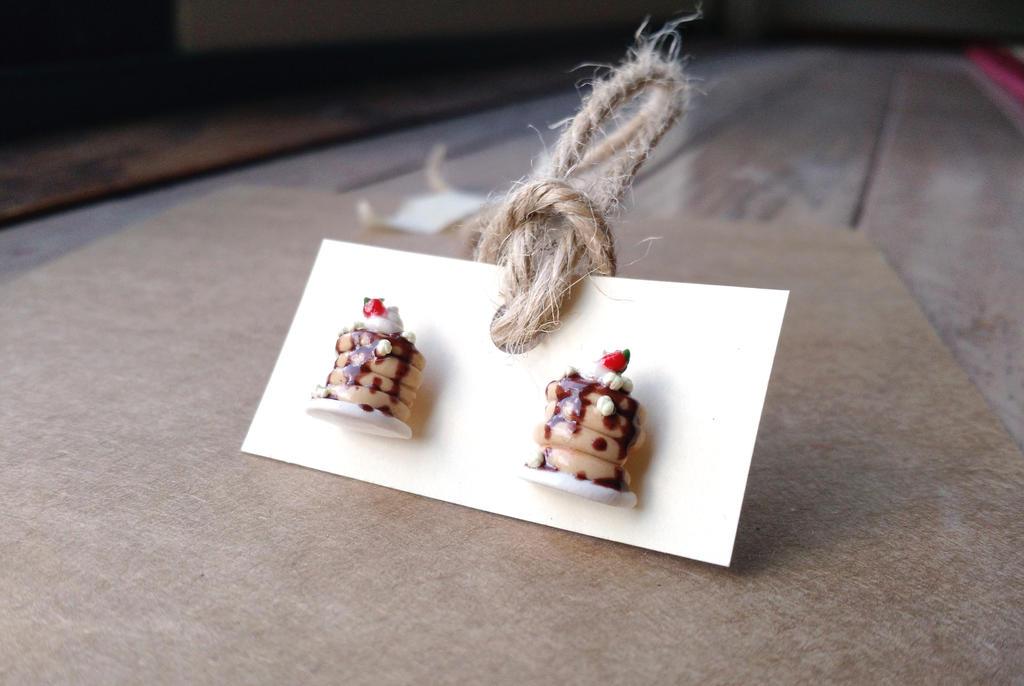 Together Breakfast Earrings by Sirix14
