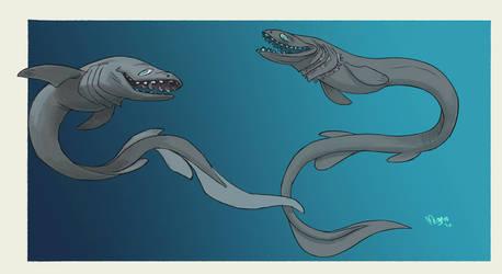 Frilled Shark by sketchshark