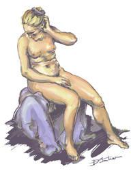 Figure Paintings #3 - Art History Study by Dkelabirath