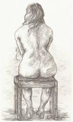 Seated Study #2 by Dkelabirath