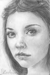 Sketchcard - Margaery Tyrell by Dkelabirath