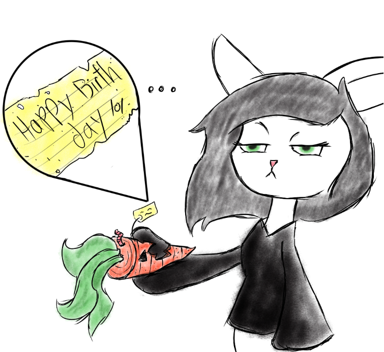 Just a birthday present by osterfire
