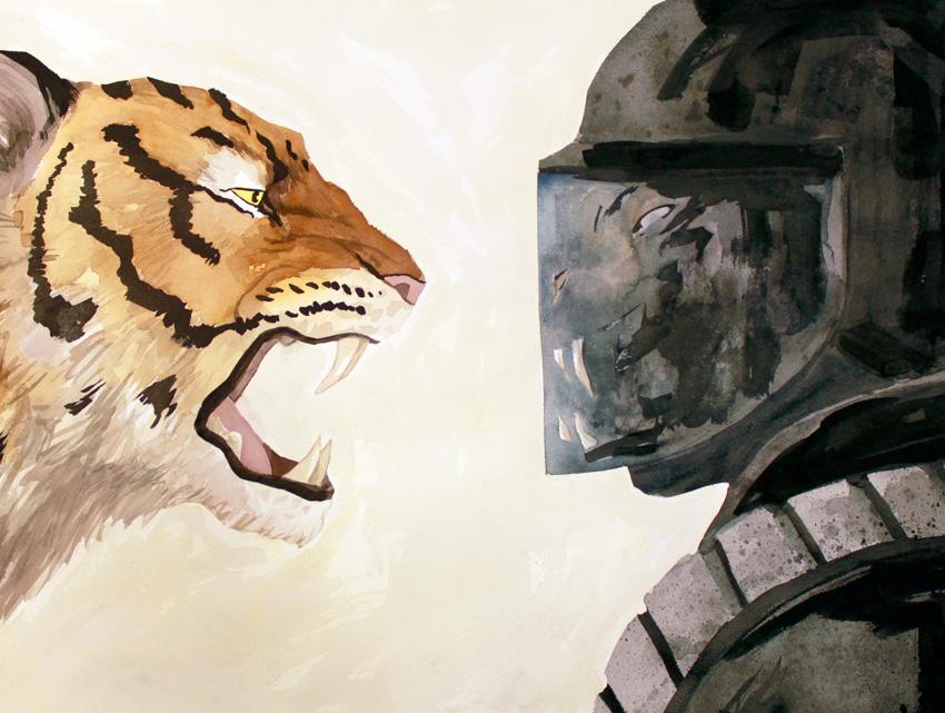 Confrontation by Veltti