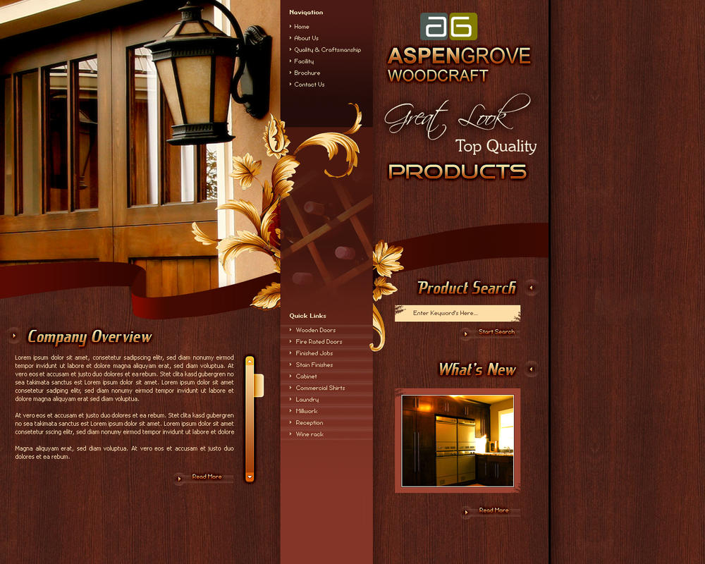Aspen Grove Woodcraft by stardexign
