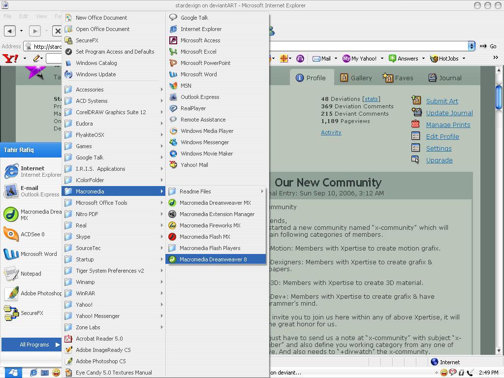 My Desktop by stardexign