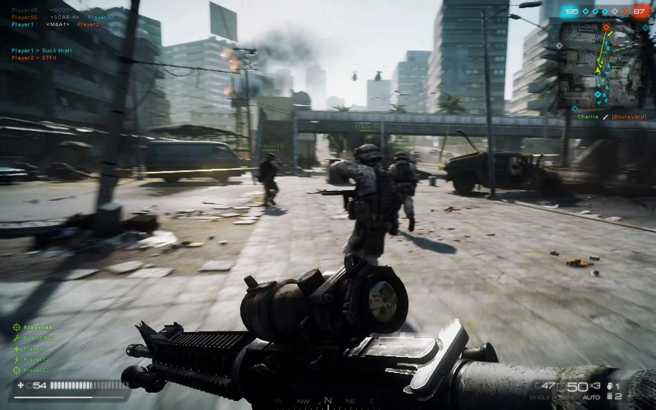 Battlefield 3 Fan-made HUD by NordlingArt on DeviantArt