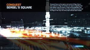 Battlefield 3 - Sergel's Square Loading Screen