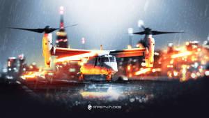 Battlefield 4: Osprey Fan Art