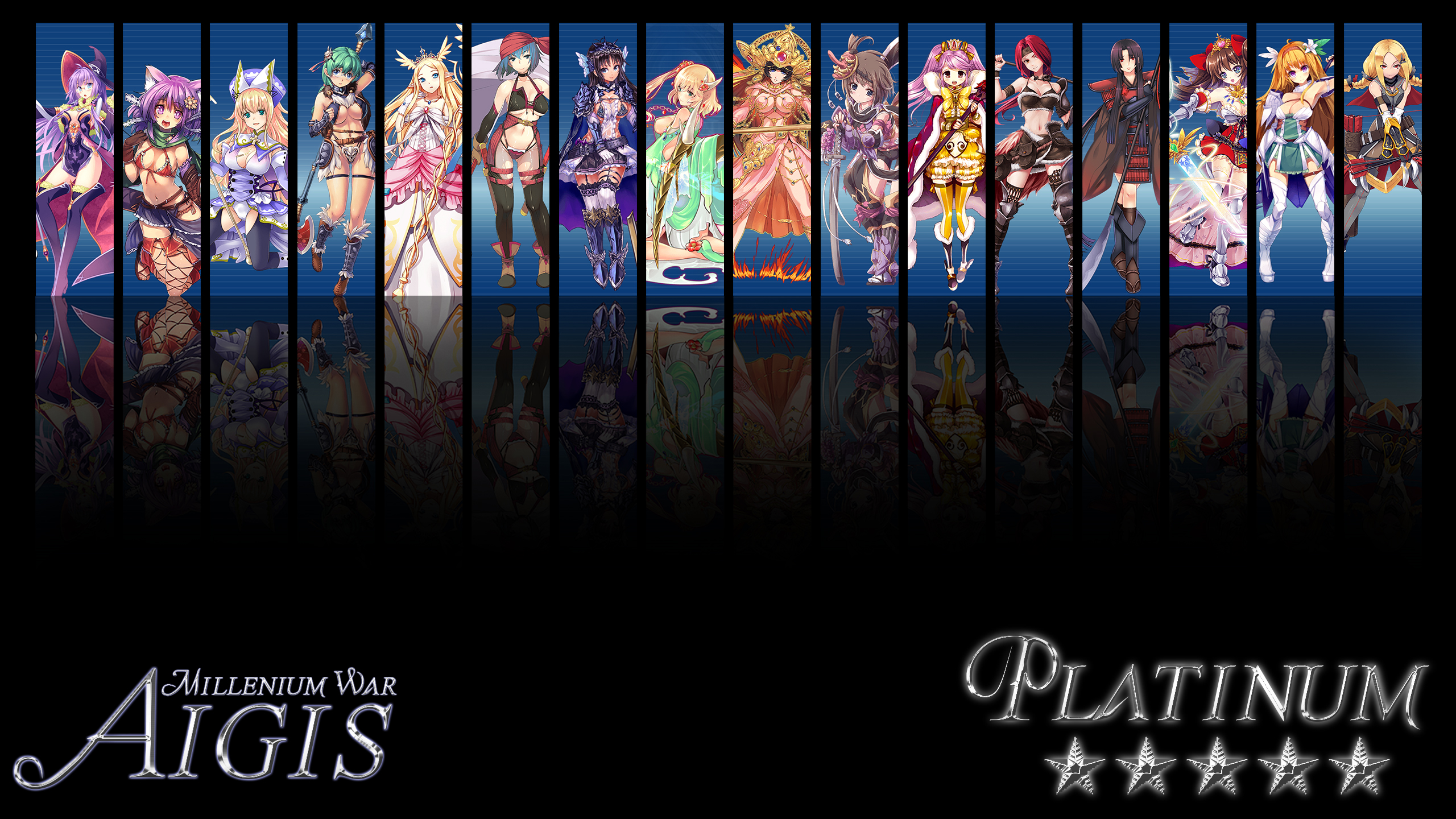 Brave Frontier Water Units Wallpaper by fickleheartedgeek on ...