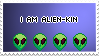 alienkin stamp by tiny-dragonite