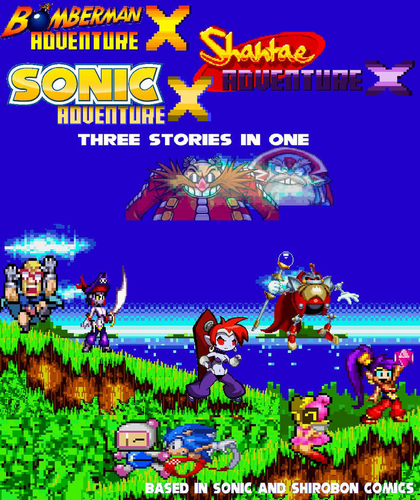 SMBX Trailers-Sonic and Shirobon Adventure X by