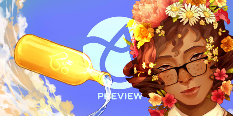 Aqualumina Charity Artbook Preview by 89pixels