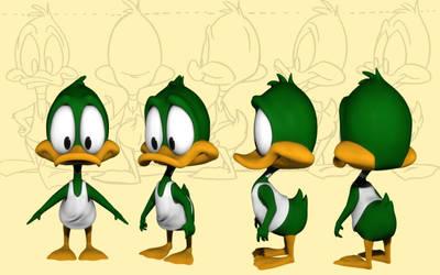 Plucky Duck by blenderaki