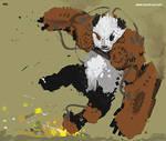 WIP Steampunk Panda