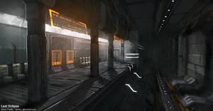 Tram Station by Razorb