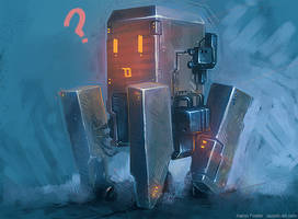 robot r4 by Razorb