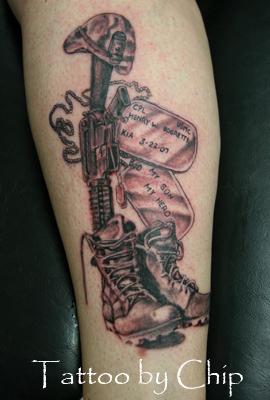 Fallen Soldier by tatt...