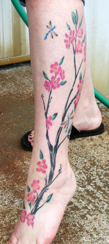 Cherry blossom by tattooedone
