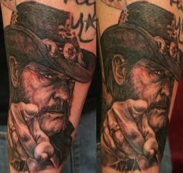 Lemmy by tattooedone