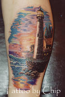 Lighthouse by tattooedone