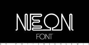 +Font 002: Neon