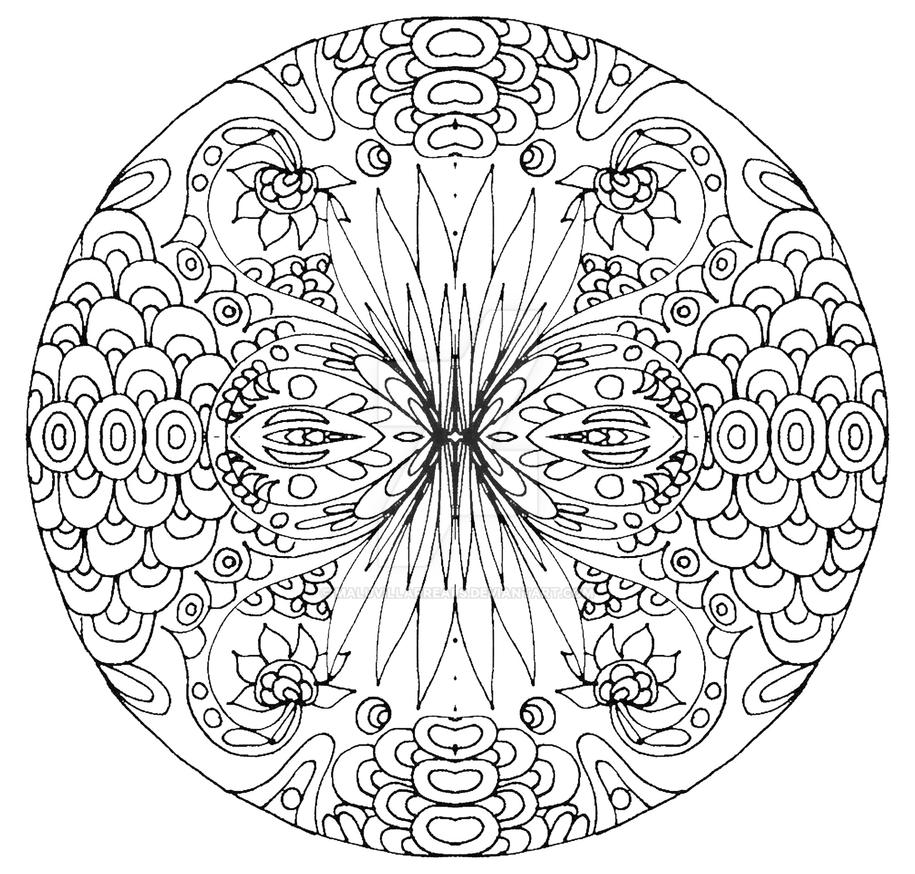 I Recognice The Fear In Me Mandala By MaluVillarreals On DeviantArt