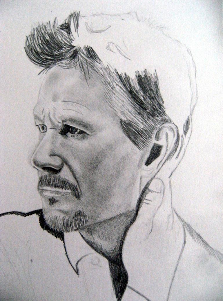 Gary Oldman sketch -unfinished Unfinished Sketch