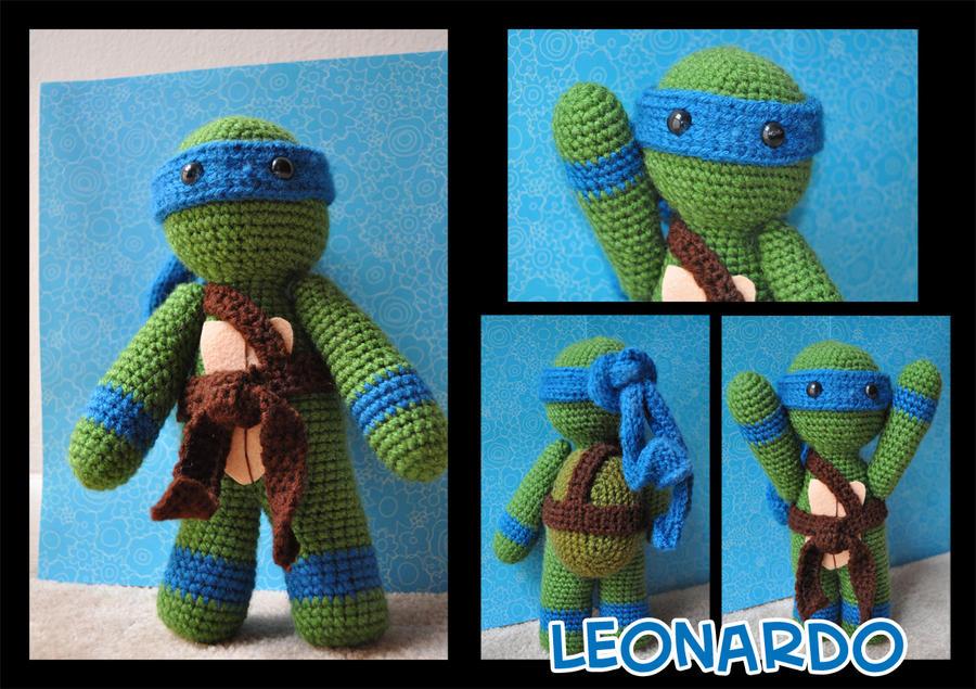 TMNT Leonardo amigurumi by t6dsarah on DeviantArt