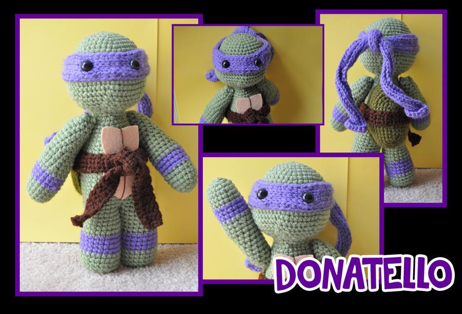 Amigurumi Tartarughe Ninja : TMNT Donatello amigurumi by t6dsarah on DeviantArt