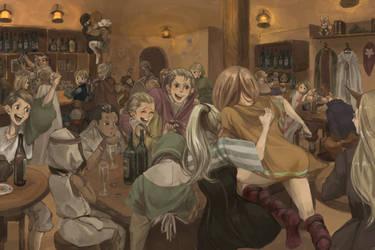 Charter Bar by puruco