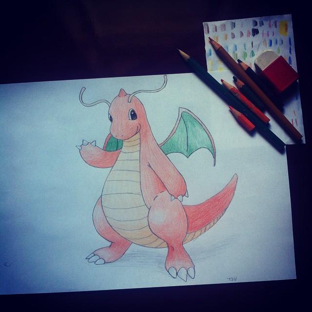Dragonite by xTsu