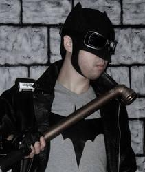 Rockabilly batman by joshspiderman238