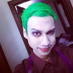 Wip Make up test for joker by joshspiderman238