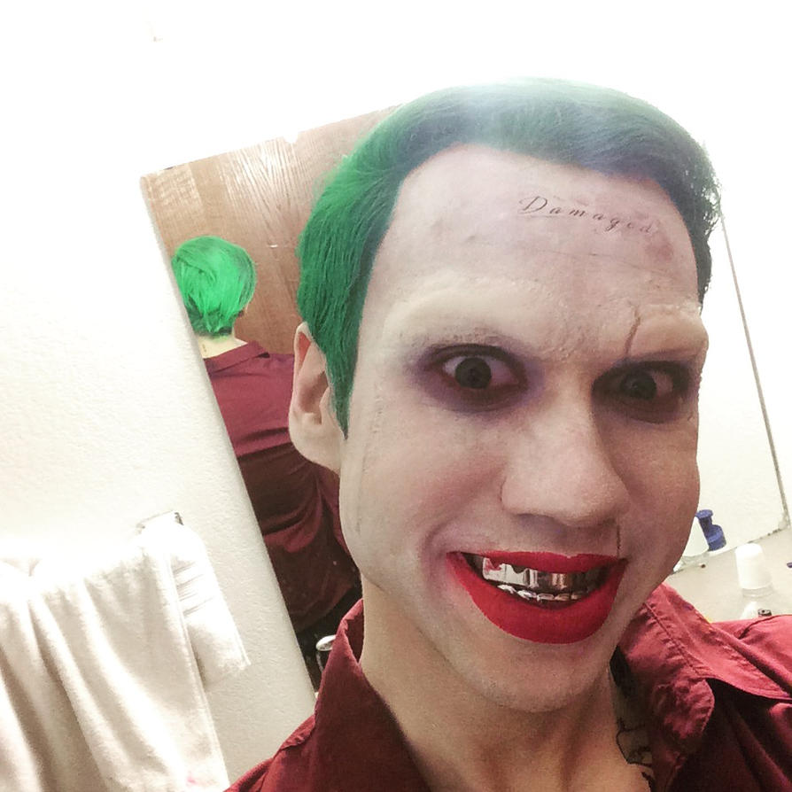 Joker Final make up test by joshspiderman238