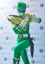Green Ranger ECCC 2016 by joshspiderman238