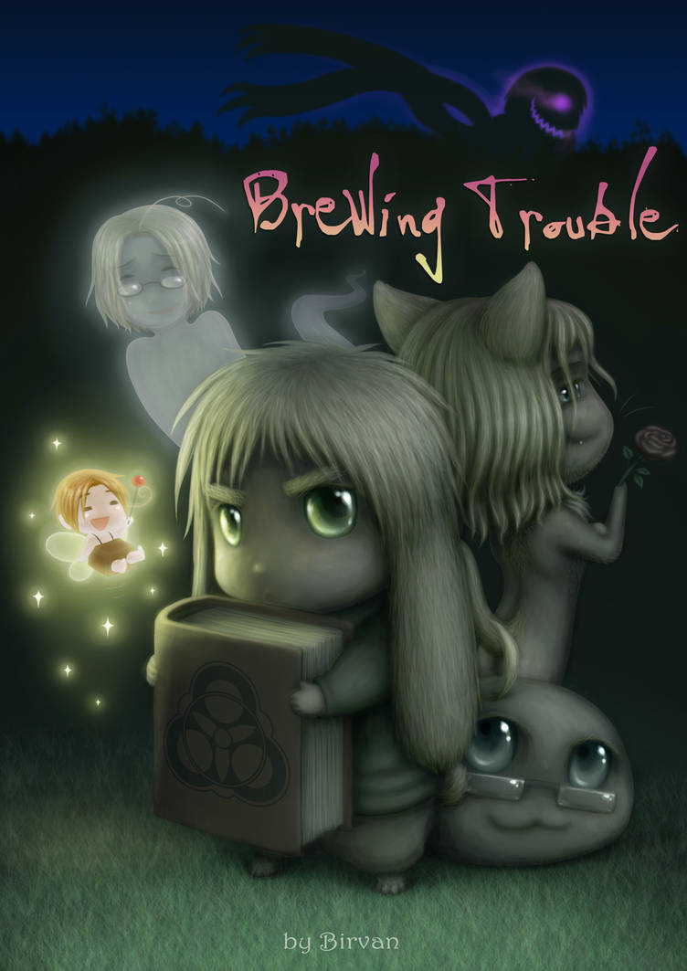 Brewing Trouble- Cover Project