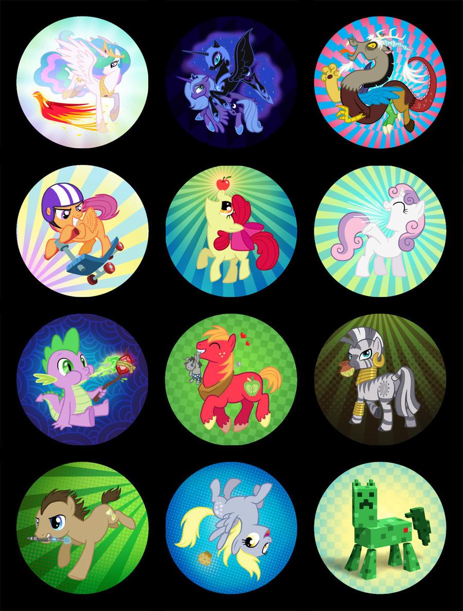 More Ponies by Birvan