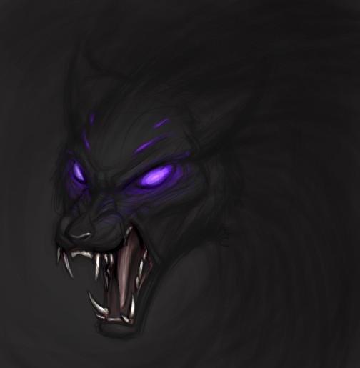 Shadow Wolf By Birvan On DeviantArt