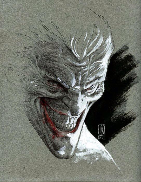 Joker Sketch by alextso