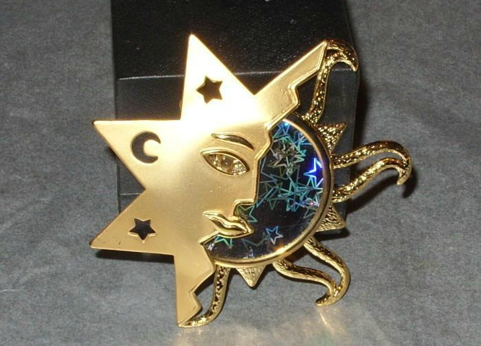 Vintage Celestial Brooch by sevvysgirl