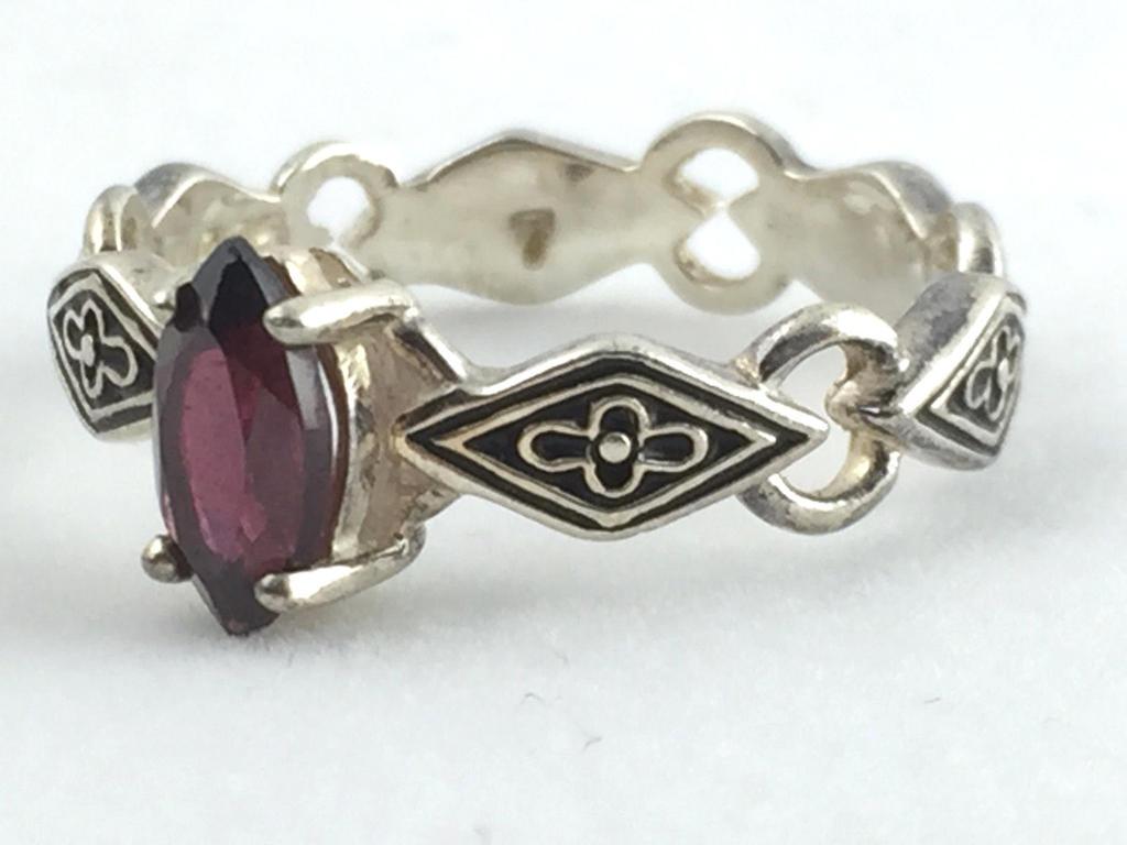 Vintage Avon Amethyst Ring