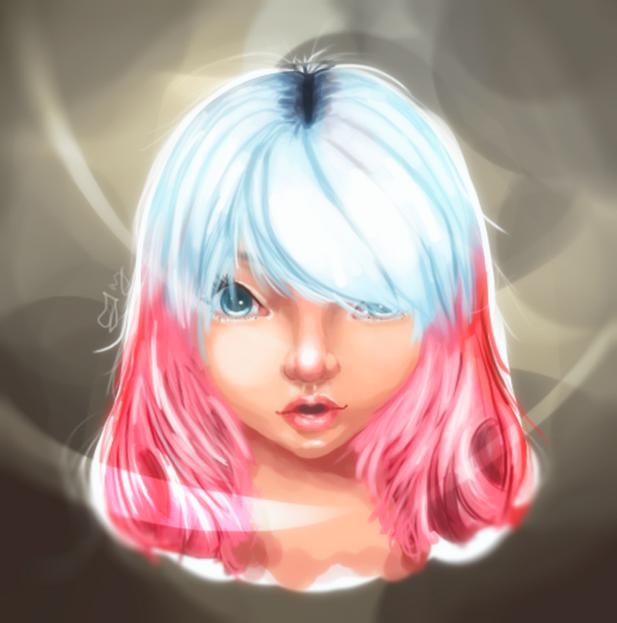 Anime Digital Painting by Ferry99
