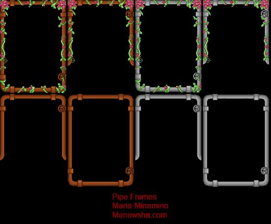 pipe frames by maria minamino