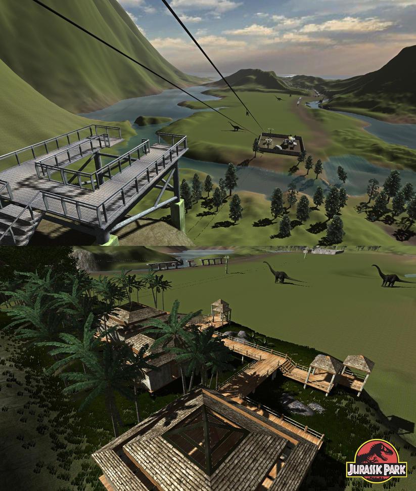 Jurassic park: Trespasser reborn by metonymic