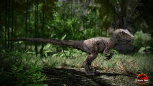 Jurassic Park Aftermath Raptor by metonymic