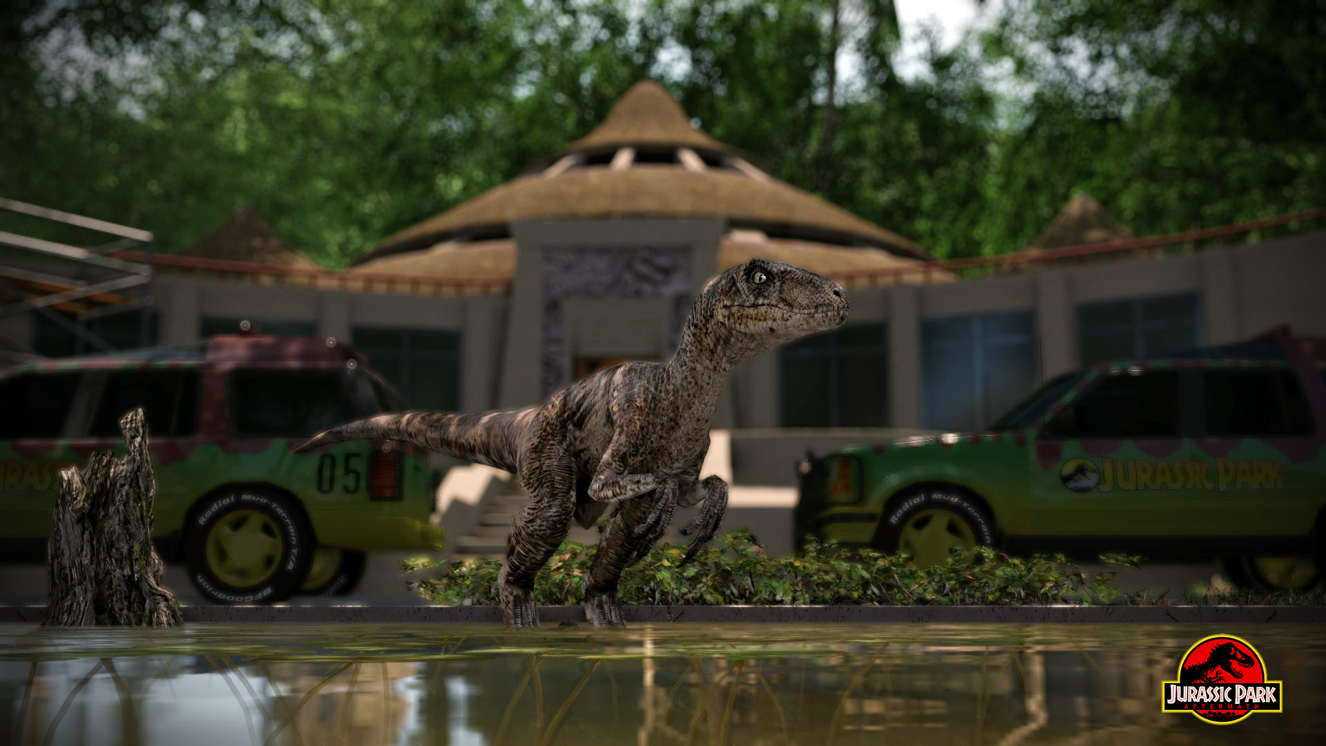 Jurassic park Aftermath by metonymic on DeviantArt – Gmod Jurassic World Map