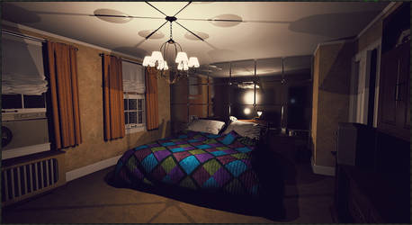 Amityville '76 - Horror Game Environment by metonymic